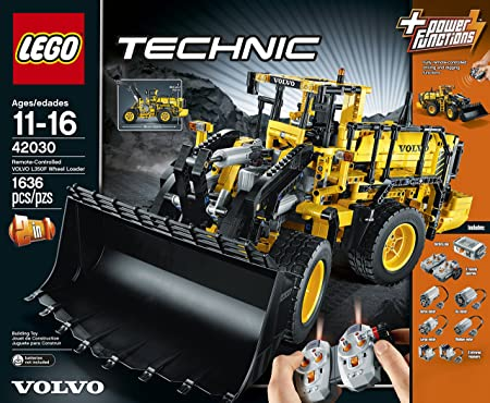 Verbazingwekkend Amazon.com: LEGO Technic 42030 Remote Controlled Volvo L350F Wheel GS-29