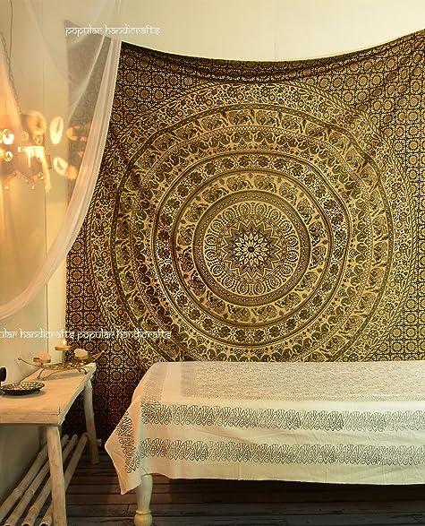 Amazon Com D Popular Handicrafts Kp714 Elephant Tapestry Wall