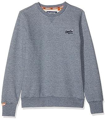 purchase cheap 116ce 9e443 Superdry Herren Pullover Orange Label Crew Sweat