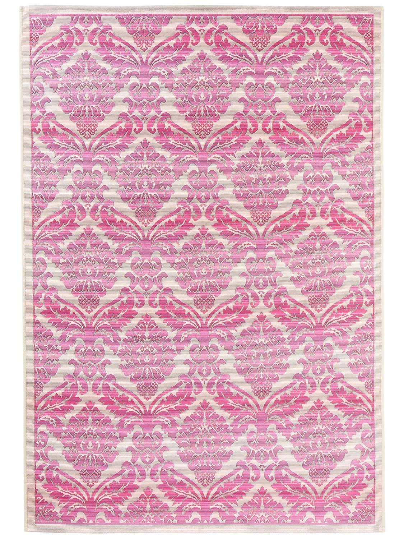 Benuta In- & Outdoor-Teppich Artis Pink 80x165 cm - Outdoor-Teppich für Balkon & Garten