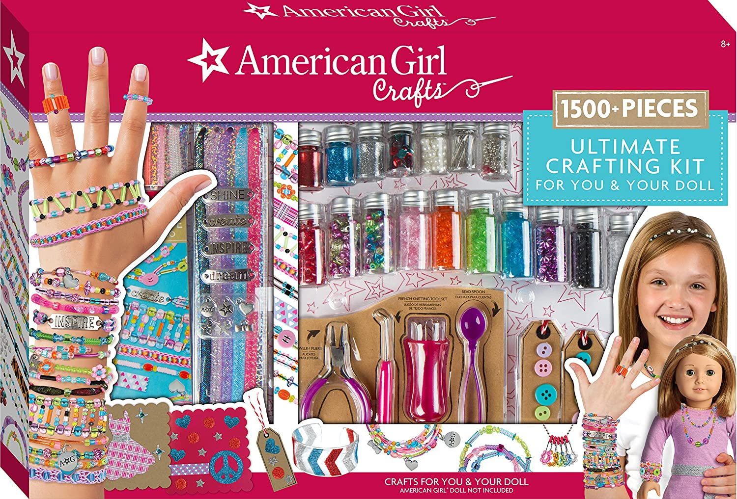 American Girl Ultimate Crafting Super Set Fashion Angels Enterprises 24118