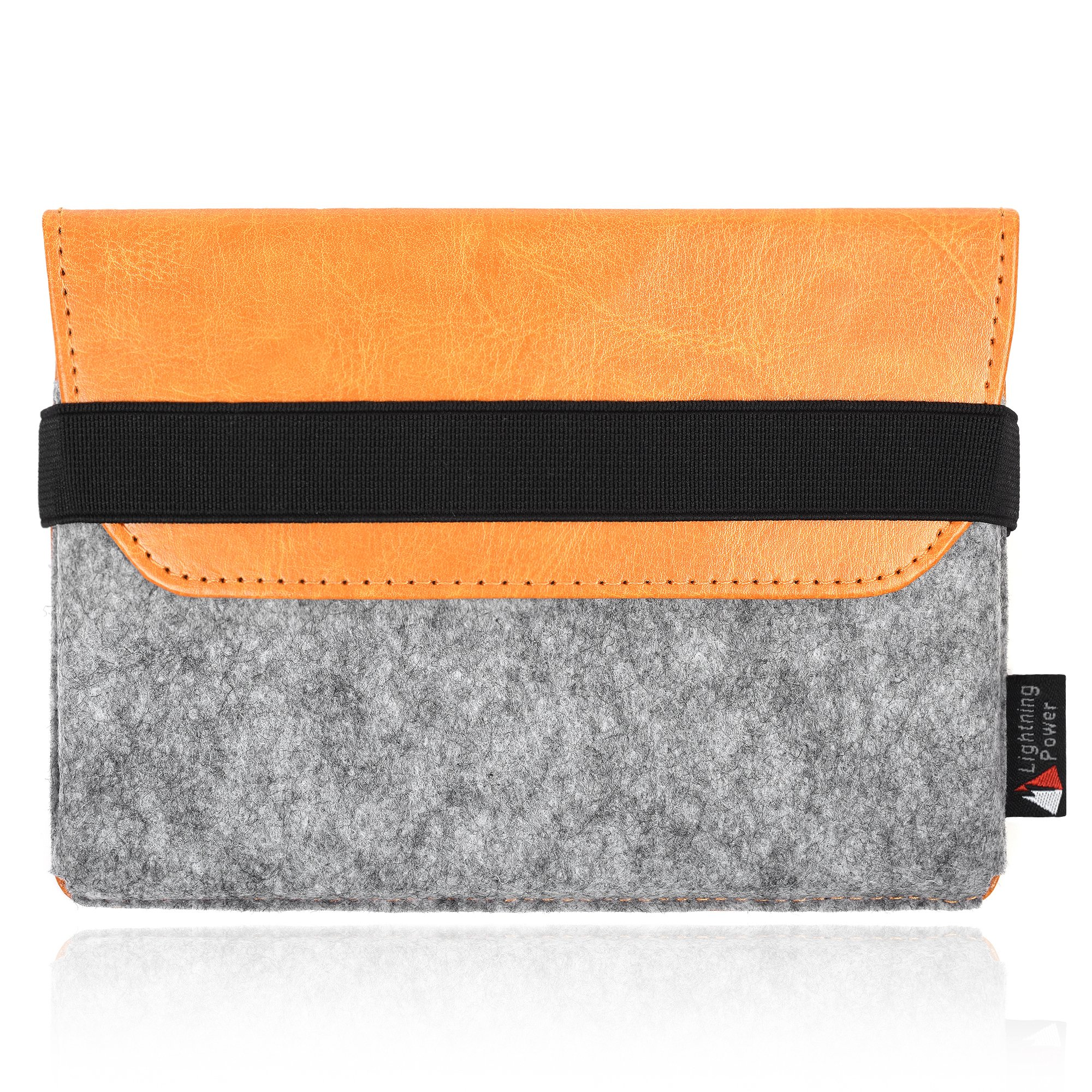 TXEsign Premium Felt PU Leather Protection Sleeve Travel Carrying Case Compatible with Apple Magic Trackpad 2 MJ2R2LL/A