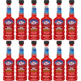 STP Gas Treatment, Fuel Intake System Cleaner, Bottles, 5.25 Fl Oz, Pack of 12, 78569-12PK