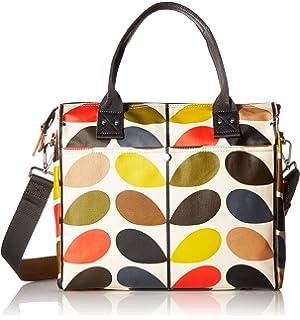 Etc Classic Multi Stem Shoulder Bag, Damen Stofftasche, Mehrfarbig (Multi), 39x26x10 cm (W x H L) Orla Kiely
