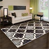 Superior Modern Viking Collection Area Rug 8mm Pile Height with Jute Backing