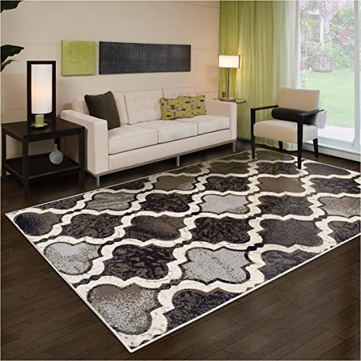 NEW CARPETS TRADITIONAL STYLE  RUG TRENDY PATTERN SIZES S XXL CREAM BEIGE