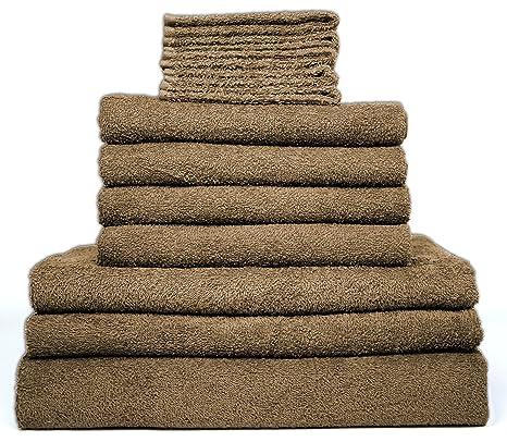 12 Mano Toalla de baño Toallas (– 1 x, 2 x toallas de ducha