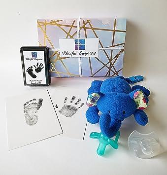 Amazon.com: Chupete de elefante BlissfulBaby y juego de ...