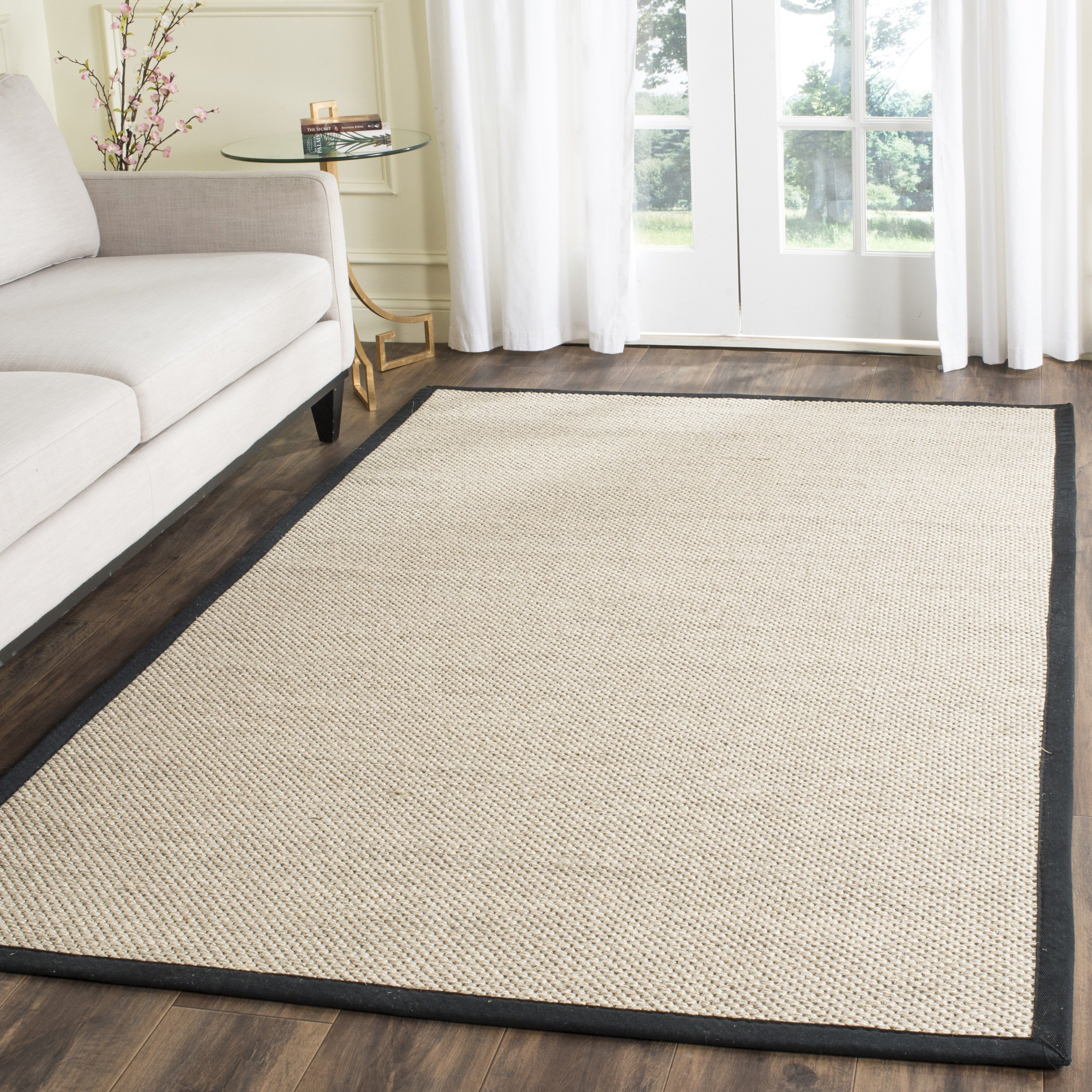 Safavieh Natural Fiber Collection NF143A Marble and
