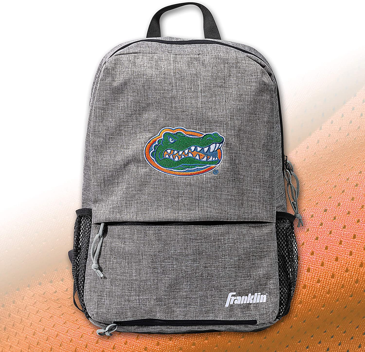 Heather Gray NCAA College Football Bags 18 x 12 x 4 Official Logos and Colors Franklin Sports NCAA Team Licensed Football Backpack
