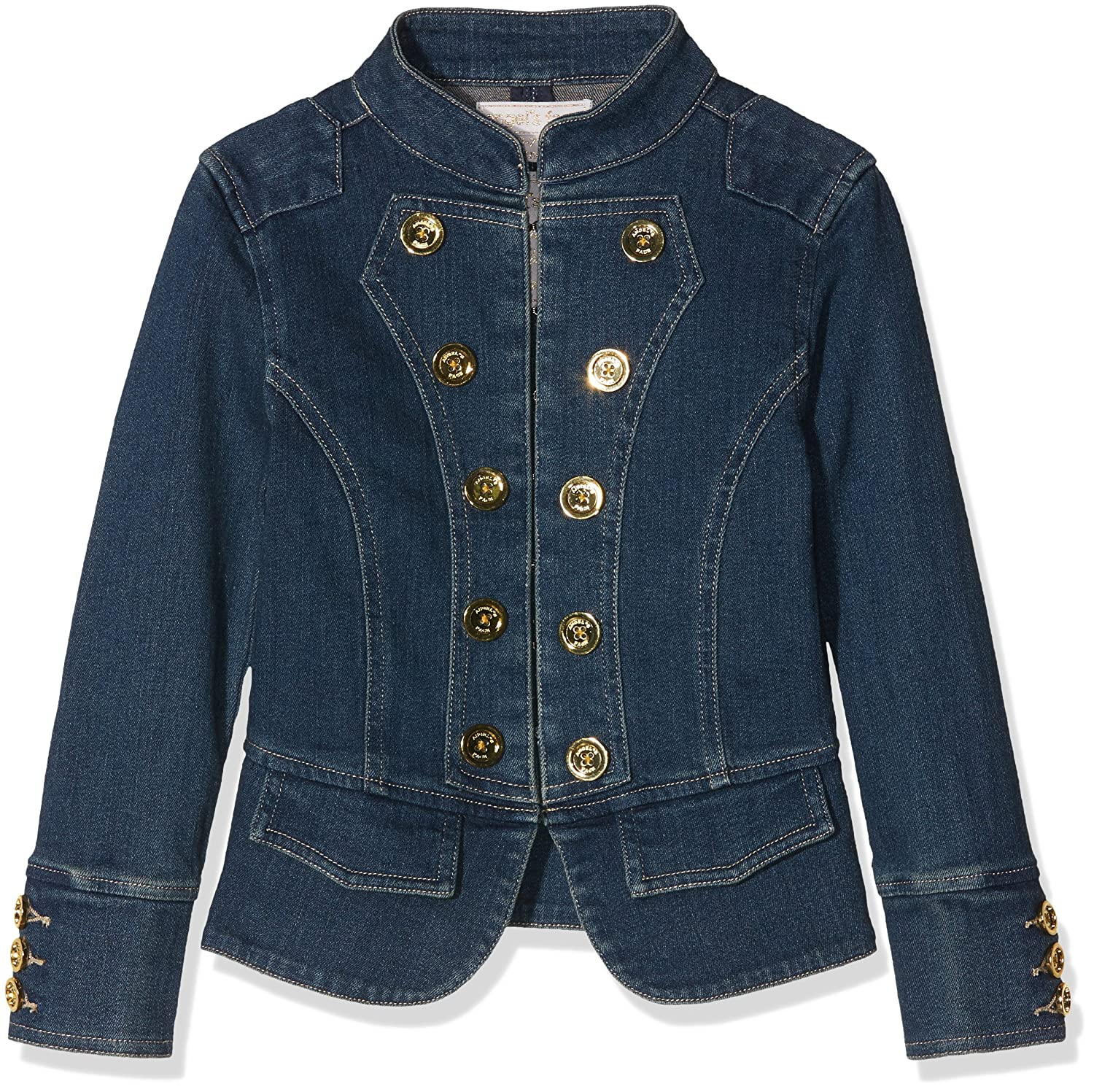 Bleu (Denim Denim) 10-11 ans Angels Face Denim veste, Blouson Fille