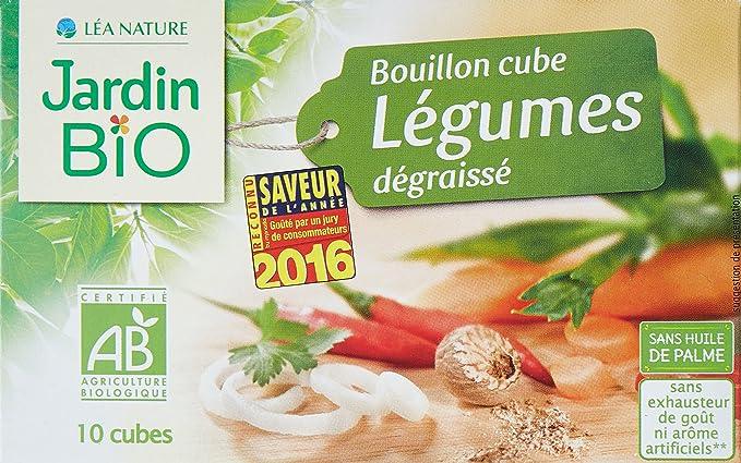 jardin bio bouillon cube lgumes dgraiss 90 g lot de 6 - Jardin Bio