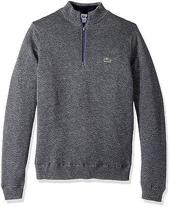 89b9b78b46 Lacoste Men's Golf Technical Jersey Half Zip Sweater at Amazon Men's ...