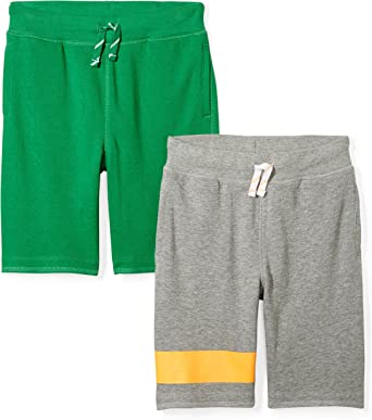 Brand Spotted Zebra Boys French Terry Knit Shorts