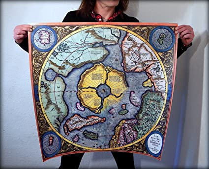 Tierra Plana: G. Mercator Septentrionalium terrarum descriptio ...