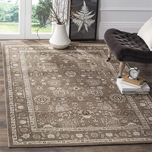 Safavieh Artisan Collection ATN326H Vintage Oriental Brown Distressed Area Rug 10 x 14