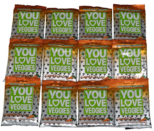 You Love Fruit Veggie - Piel de zanahoria – 12 bolsas ...