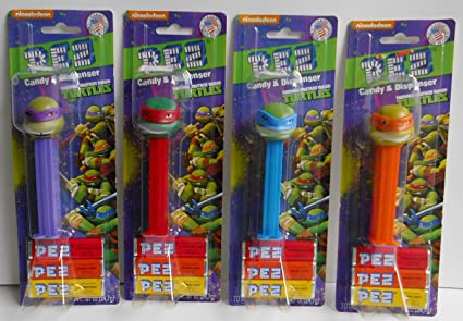 Amazon.com: Teenage Mutant Ninja Turtle Dispensadores de Pez ...