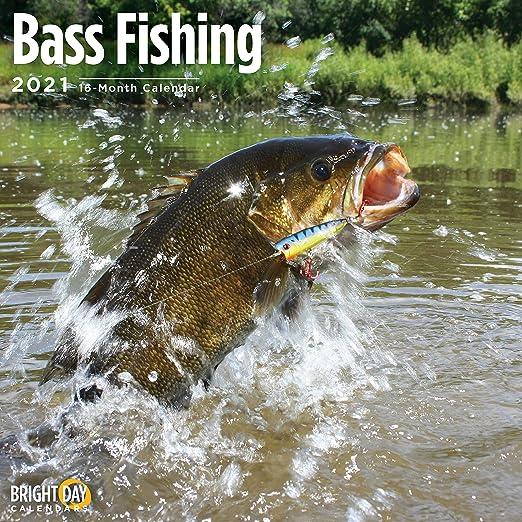 In Fisherman Calendar 2021 Amazon.com: 2021 Bass Fishing Wall Calendar by Bright Day, 12 x 12