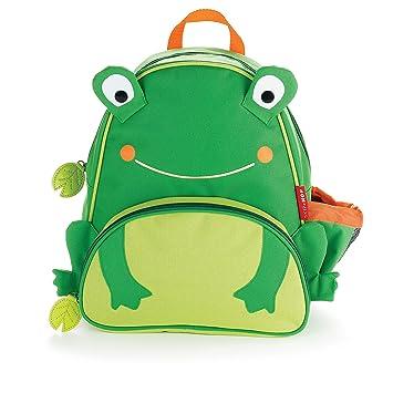 Skip Hop Zoo Pack Mochila niño pequeño, color rana: rana (Bebe/pequeños- los mas pequeños): Amazon.es: Bebé