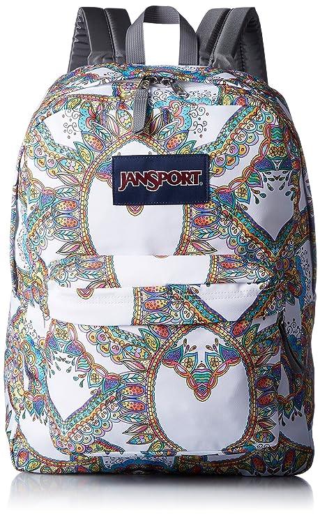Amazon.com  JanSport Unisex SuperBreak Multi Summer Festival ... 472366ef86a46