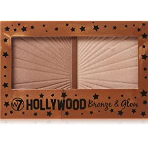 w7 Blushs Hollywood Bronze/Glow Duo Bronzer/ Highlighter