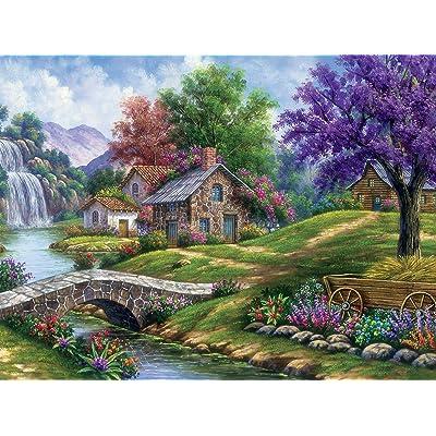 Ceaco Arturo Zarraga Tranquility Jigsaw Puzzle, 550 Pieces: Toys & Games