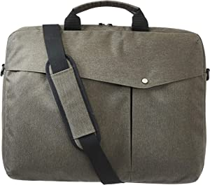 AmazonBasics Business Laptop Case - 17-Inch, Army Green