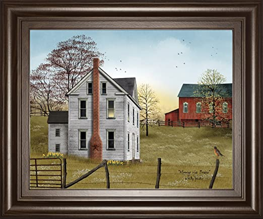 Billy Jacobs The Old Dirt Road Country Farm PAPER art Print 16 x 12