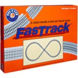 Lionel FasTrack Electric O Gauge, Figure-8 Track Add-on Pack