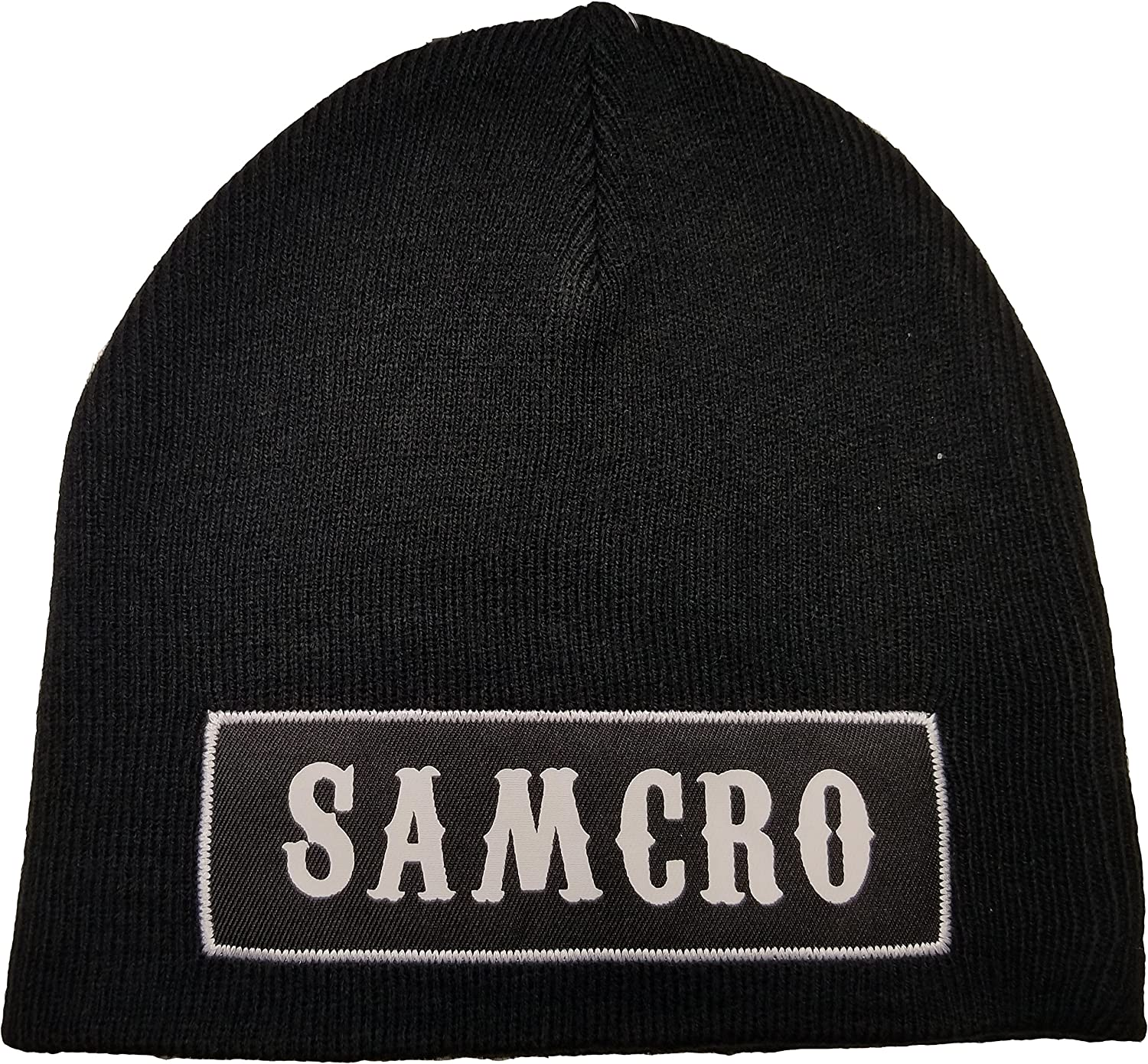Sons Of Anarchy Reaper Print Baby Black Beanie Hat
