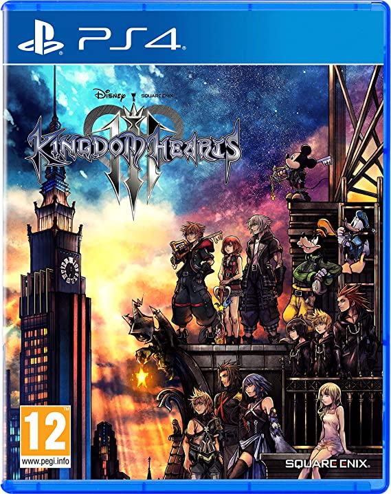 Kingdom Hearts 3 - PlayStation 4 [Importación inglesa]: Amazon.es ...