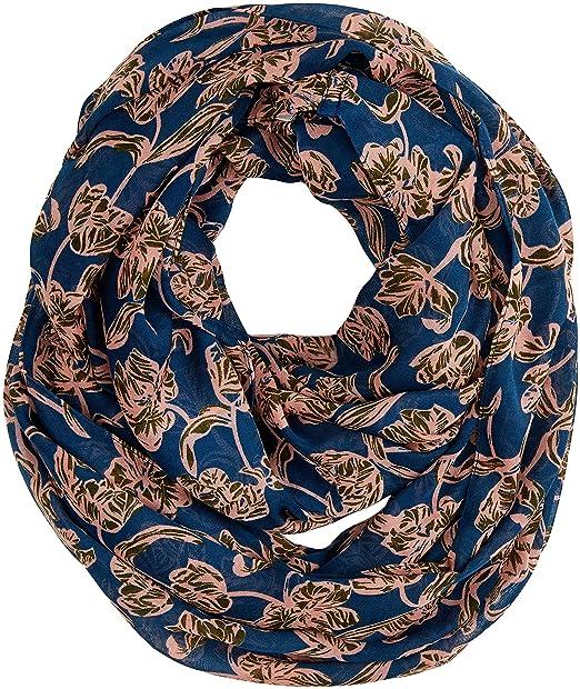 PIECES Pctroja Tube Scarf PB, Bufanda para Mujer, Multicolor Legion Blue,  Talla única 7dfb0c32ee0