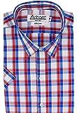 Arihant Men's Checkered 100% Cotton Half Sleeve Regular Fit Formal Shirt