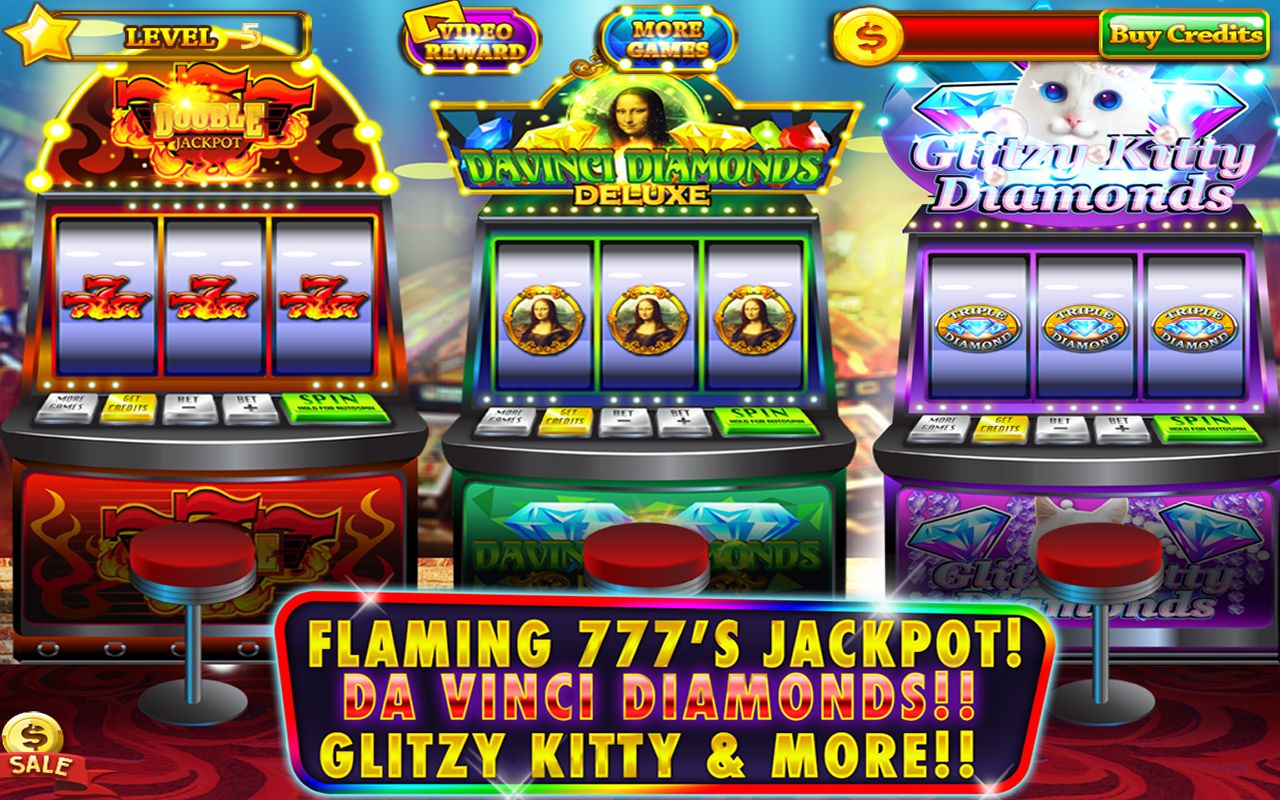 Flaming 777 Slots Games