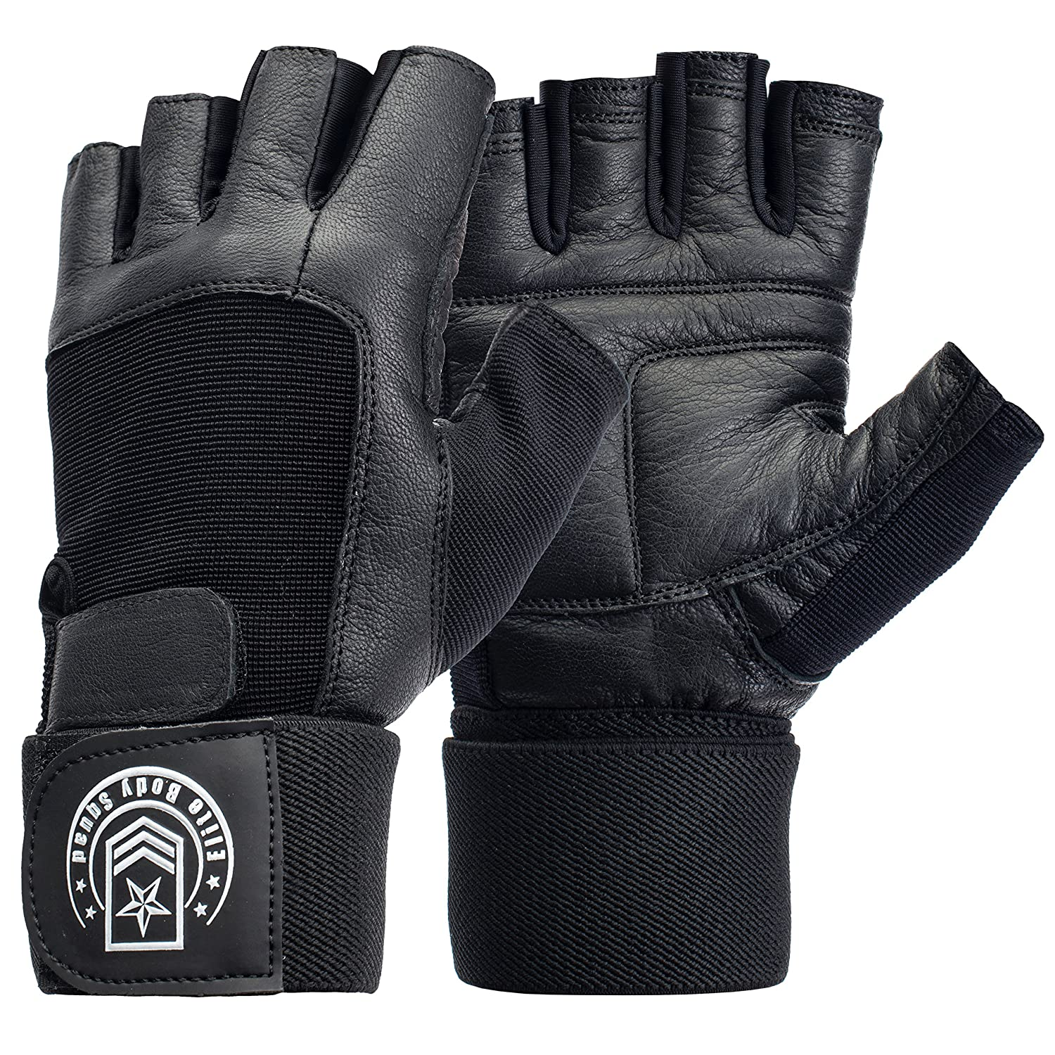 Weight Lifting Gloves - Soft Leather.