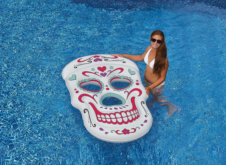 Swimline Sugar Skull Pool Float
