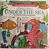 Finding Solace Under The Sea 18 Month 2018 Calendar