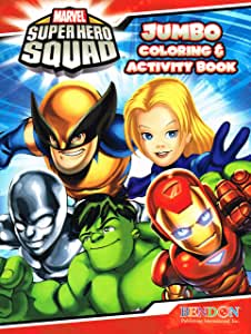 Marvel Super Hero Squad Coloring & Activity Book (Cover Image Varies)