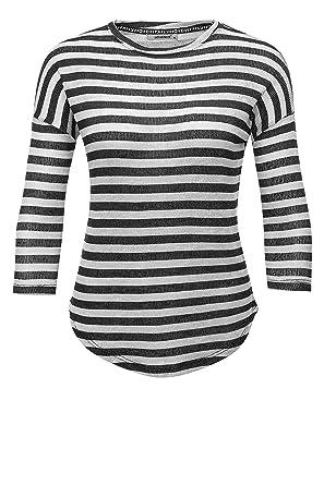Hailys Damen Langarmshirt Shirt Feinstrick Pullover: Amazon.de: Bekleidung