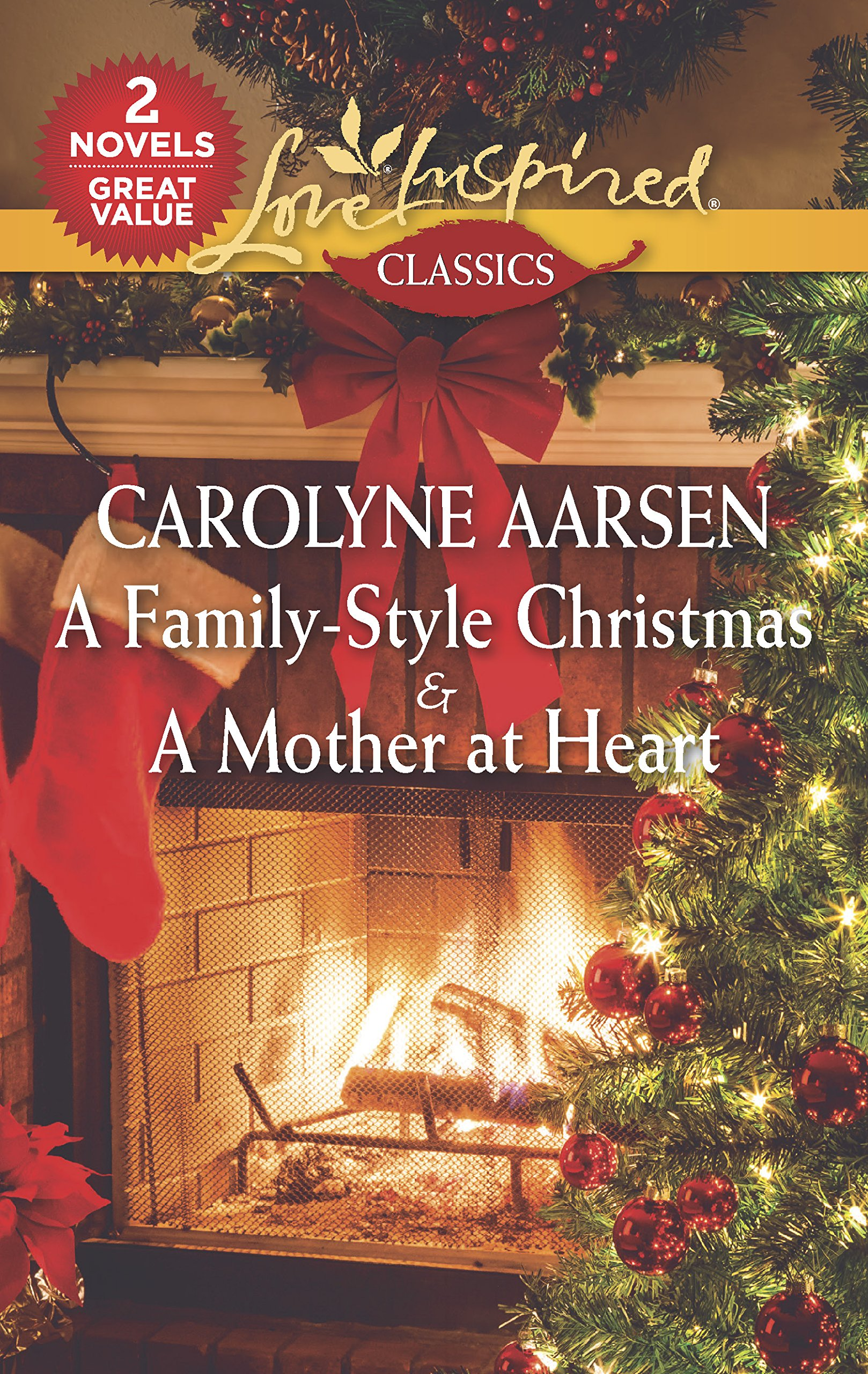 Download A Family-Style Christmas & A Mother at Heart: An Anthology (Love Inspired Classics) pdf