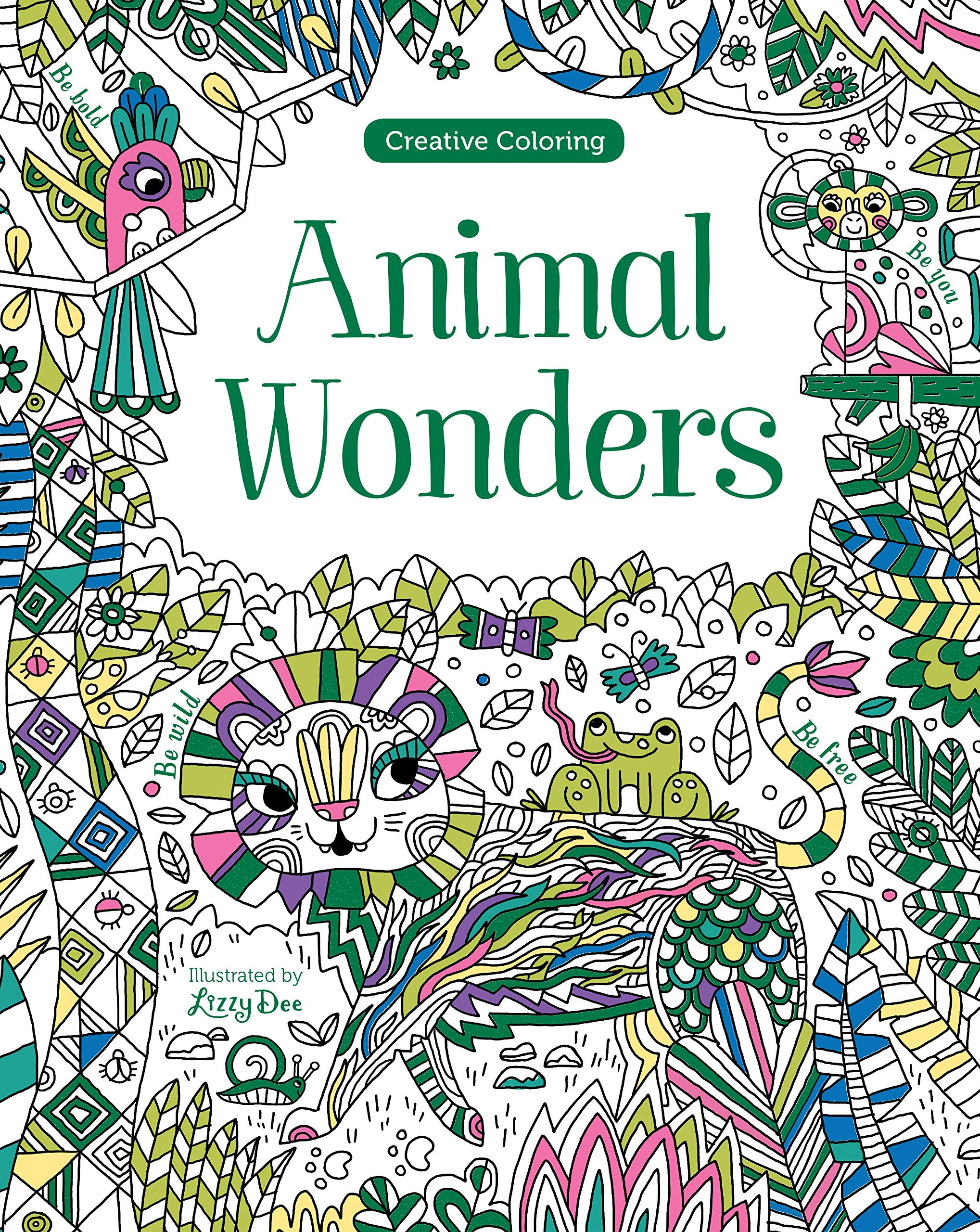 Animal Wonders Creative Coloring Parragon Books Ltd