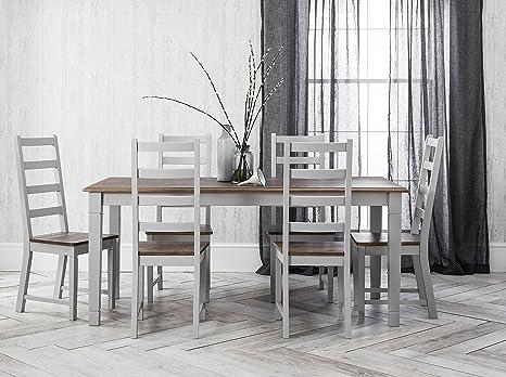 Noa & Nani – Juego de mesa de comedor y 6 sillas Canterbury ...