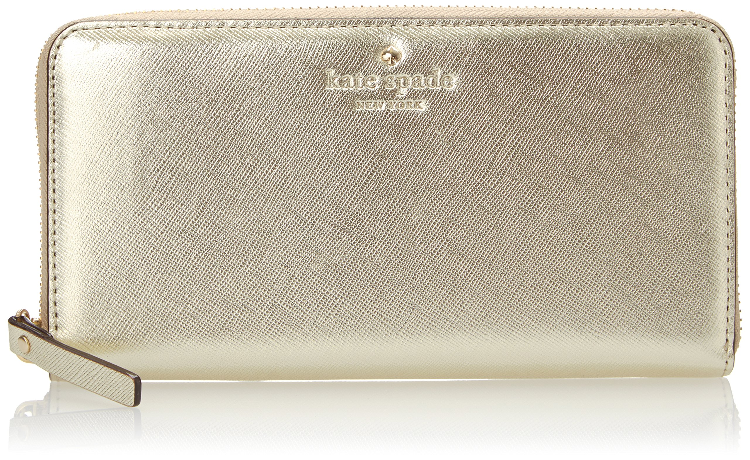 kate spade new york Cedar Street Lacey Wallet, Gold, One Size