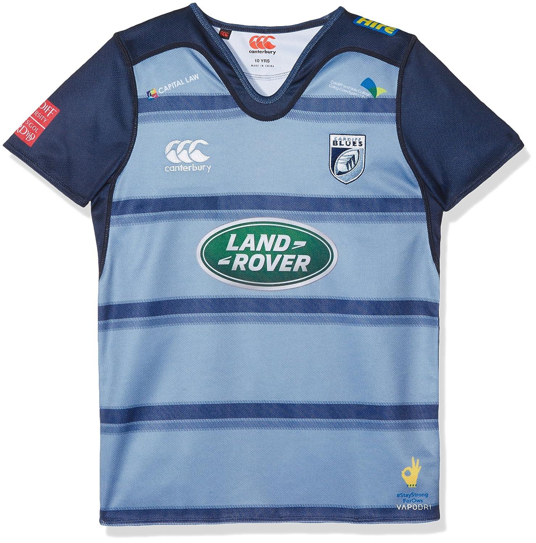 Oficial ni/ños de Rugby de Cardiff Home Pro Jersey