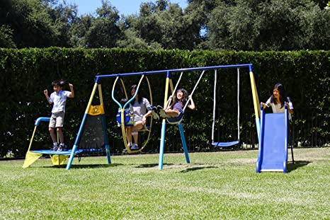 Amazon Com New Sportspower Ridgewood Me And My Toddler Metal Swing