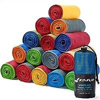Fit-Flip Toalla Microfibra – 16 Colores, Muchos tamaños