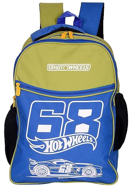 1fe13419e5 Hotwheels-E-18-332-Green-Blue 27 liters Casual Backpack  Amazon.in ...