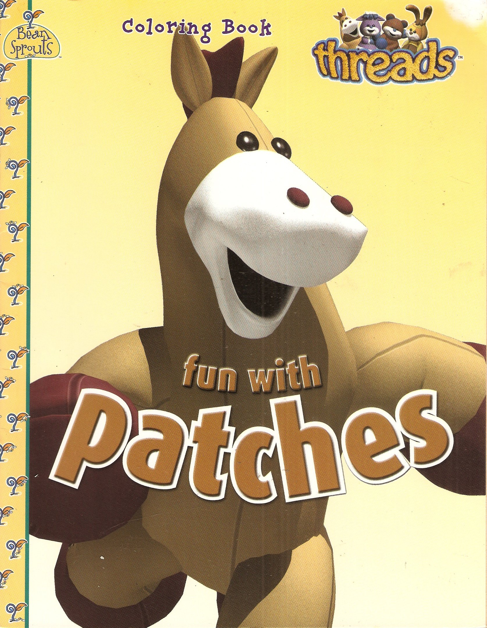 Fun with Patches (Threads Coloring Books) ebook