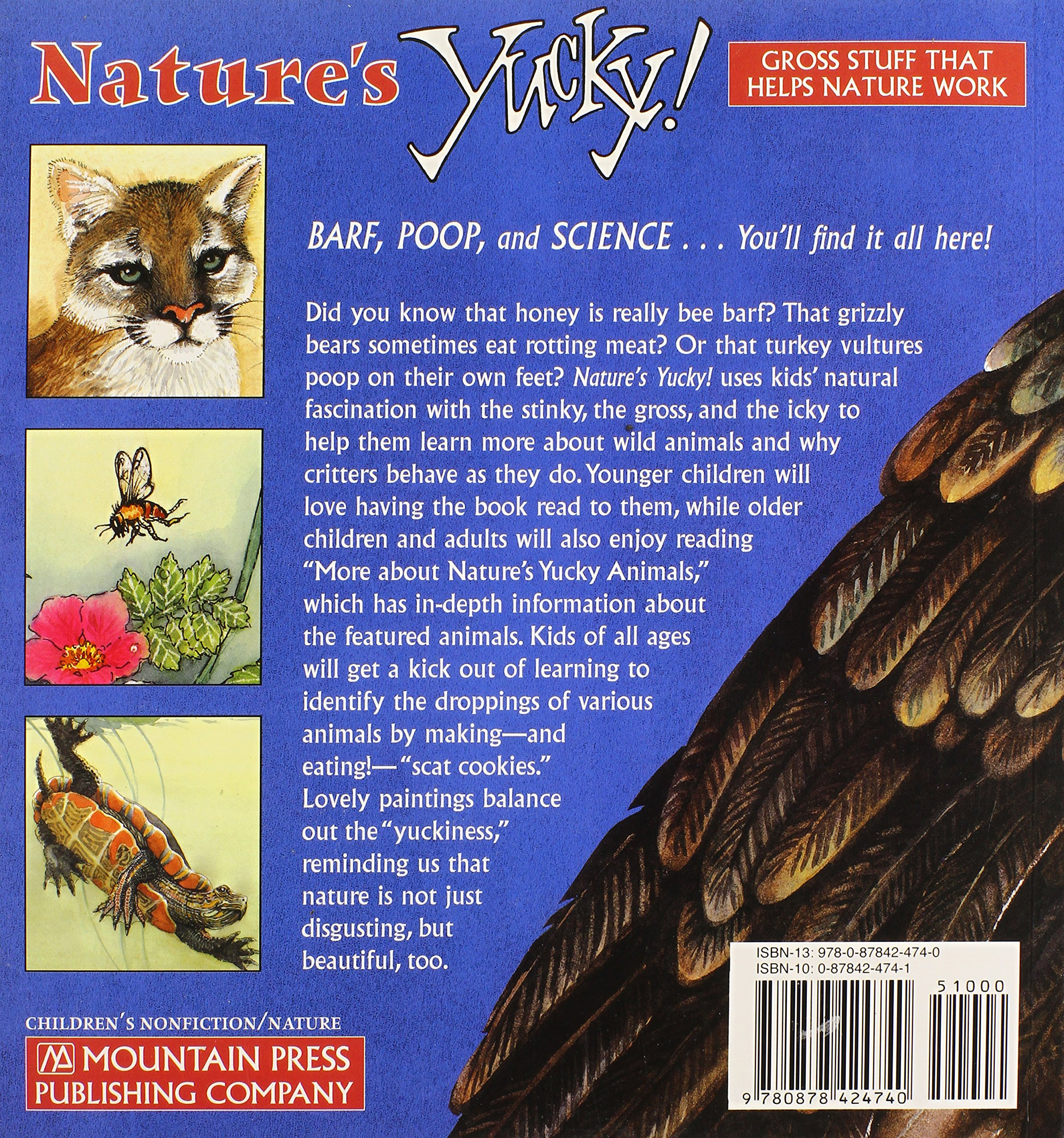 Amazon natures yucky gross stuff that helps nature work amazon natures yucky gross stuff that helps nature work 9780878424740 lee ann landstrom karen i shragg constance r bergum books fandeluxe Choice Image